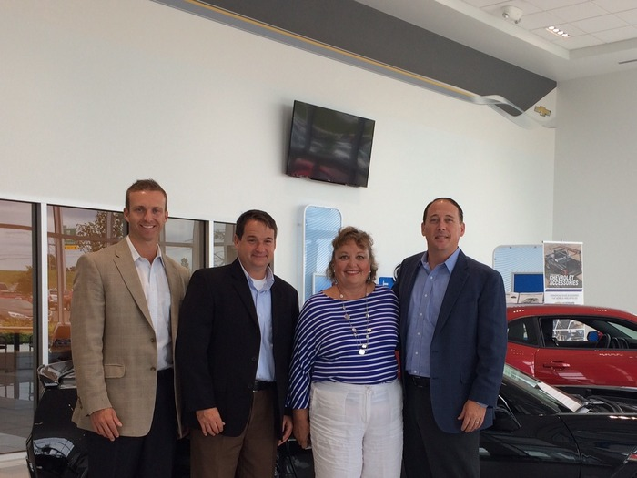 Chevrolet Dealers Columbus Ohio >> Representative Grossman Visits Byers Chevrolet