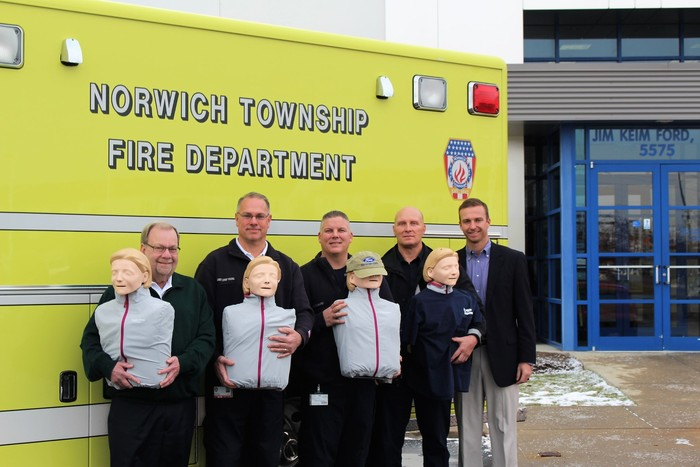 Jim Keim Ford >> Jim Keim Ford Donates Cpr Training Unit To Local Fire Department