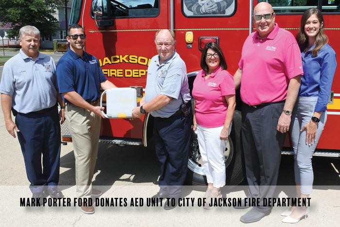 Mark Porter AED Jackson