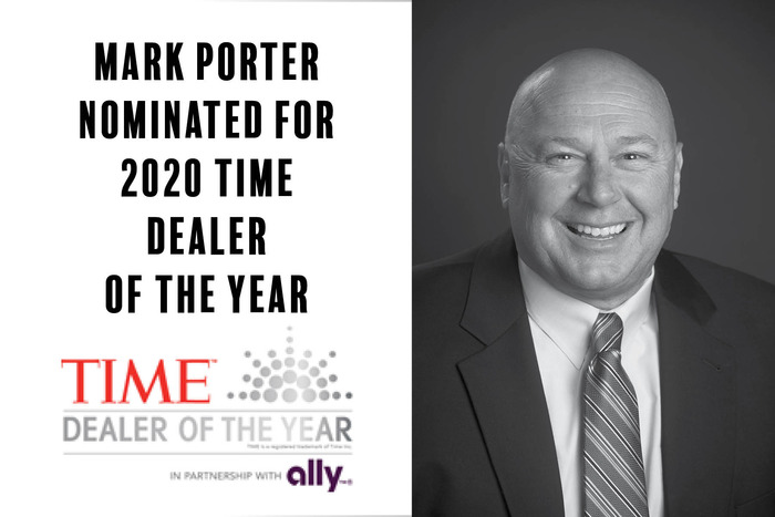 Mark Porter Nominated for TIME Dealer of the Year